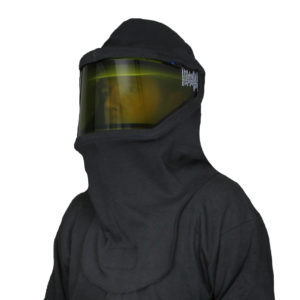 ARC Beekeeper Hood with 50 cal Faceshield and cap bracket  Premium Weight (3ply)