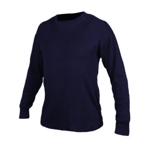 Long Underwear Fitted Crew Neck Top INT C6 Mid-Weight (1ply)