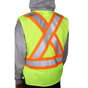 ANSI Class 2 Vest with X Reflective Vest