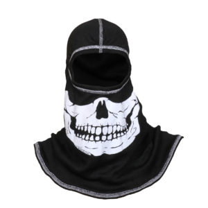 FIRE INK White Skull with White Trim