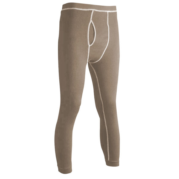 Long Underwear Relaxed Bottom Nomex Blend Tan (1ply)