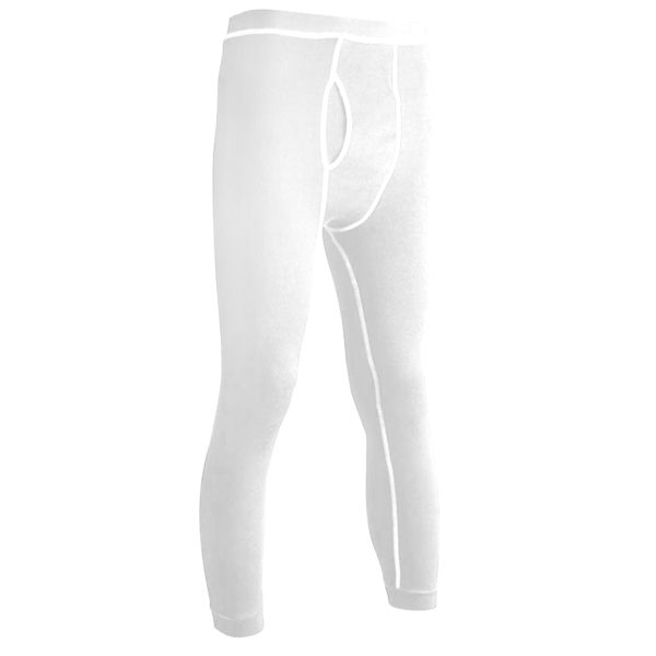 Long Underwear Relaxed Bottom Nomex Blend White(1ply)