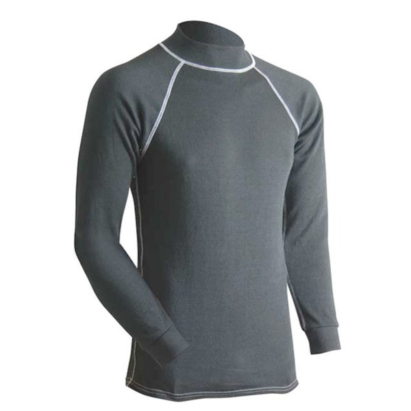 Long Underwear Relaxed Mock Neck Top INT C6 Premium Weight (1ply)