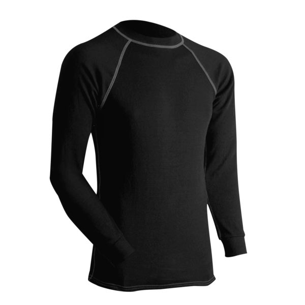Long Underwear Relaxed Crew Top Silk Weight (1ply)