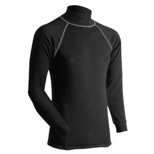 Long Underwear Relaxed Turtleneck Top Silk Weight (1ply)