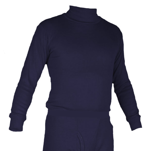 Long Underwear Fitted Turtleneck Top INT C6 Mid-Weight (1ply)