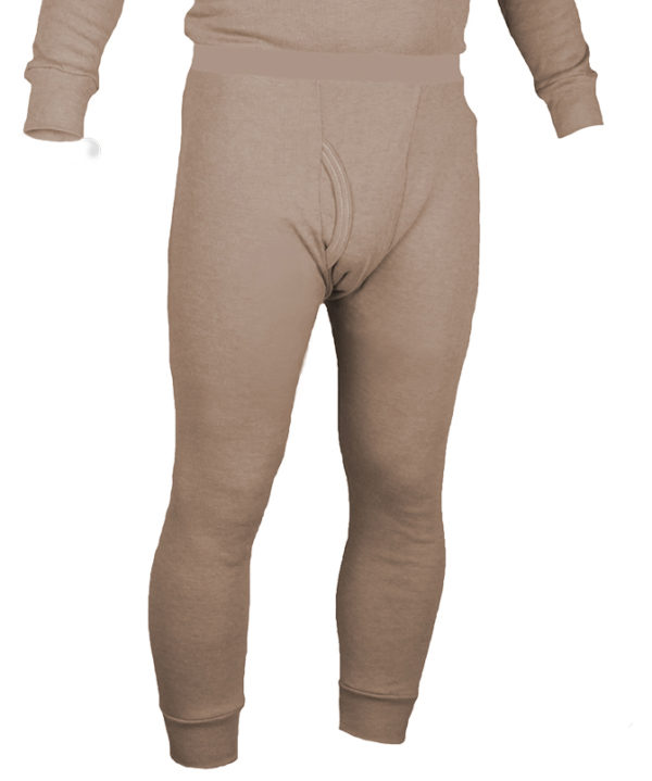 Long Underwear Fitted Bottom Nomex Blend Tan (1ply)