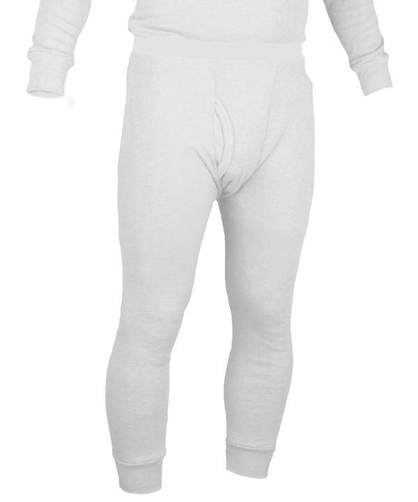 Long Underwear Fitted Bottom Nomex Blend White(1ply)