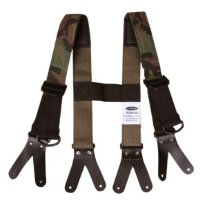 Suspenders - Padded Camo